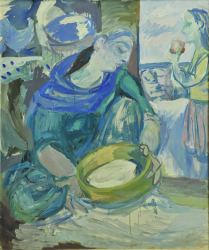 Woman with Sieve